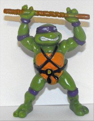 TMNT Donatello 3 inch Plastic Figurine 1988 by Yolanda