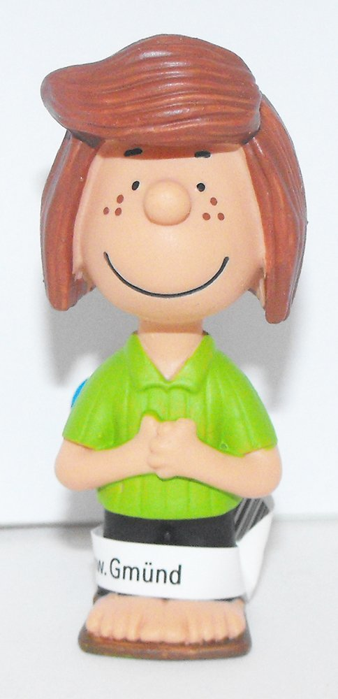 Peppermint Patty 2 inch Plastic Figurine Peanuts Miniature Figure