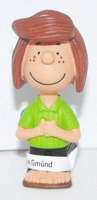 Peppermint Patty 2 inch Plastic Figurine Peanuts Miniature Figure