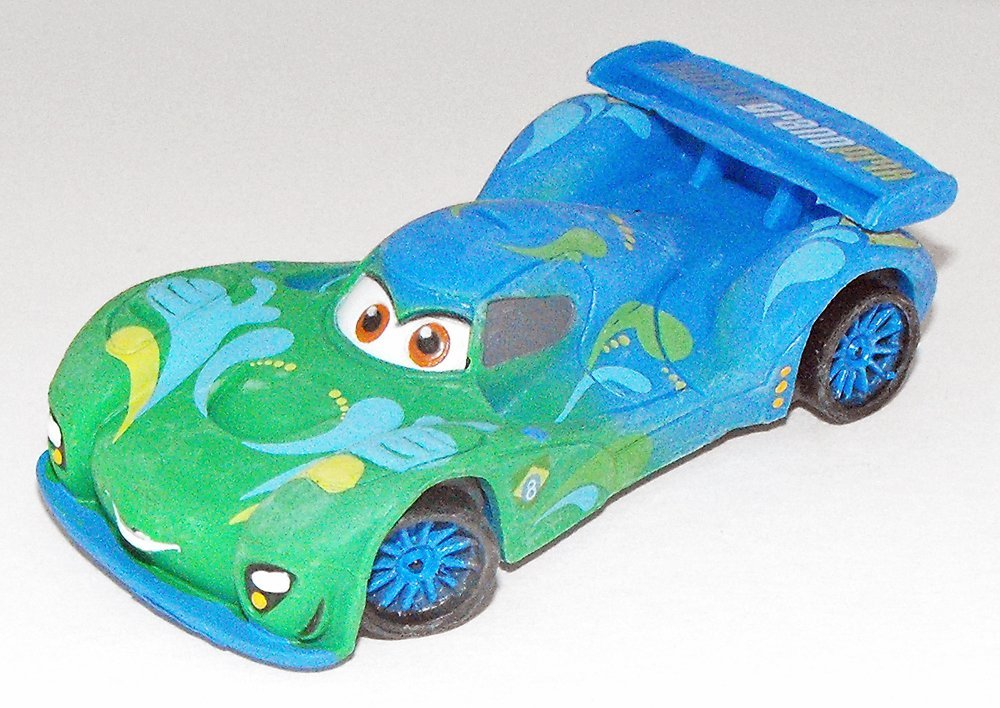 Carla Veloso Plastic Figurine from Disney's Cars 2