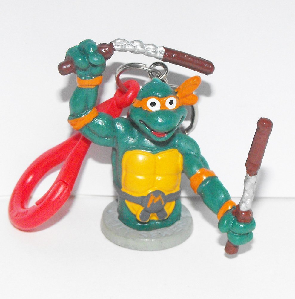 TMNT Michaelangelo Torso Figurine KeyChain