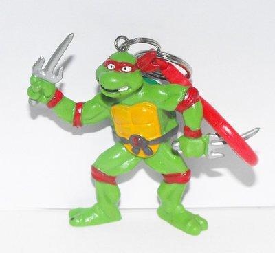 TMNT Raphael 2 1/2 Small Plastic Figurine Keychain
