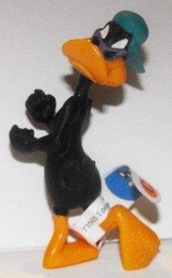 Daffy Duck with Purple Sunglasses Figurine Looney Tunes Plastic Miniature Figure