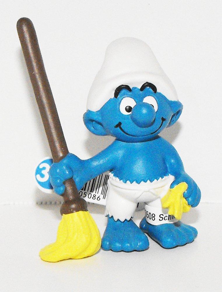 20763 Cabin Boy Smurf from 2014 Pirate Set Plastic Figurine Miniature Figure