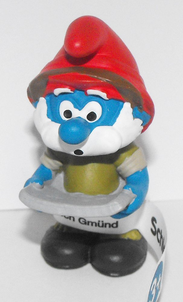 20777 Jungle Adventure Papa Smurf Figure 2016 Plastic Miniature Figurine