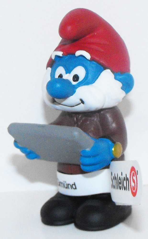 20769 Boss Papa Smurf Figurine from 2015 Office Set Plastic Miniature Figure