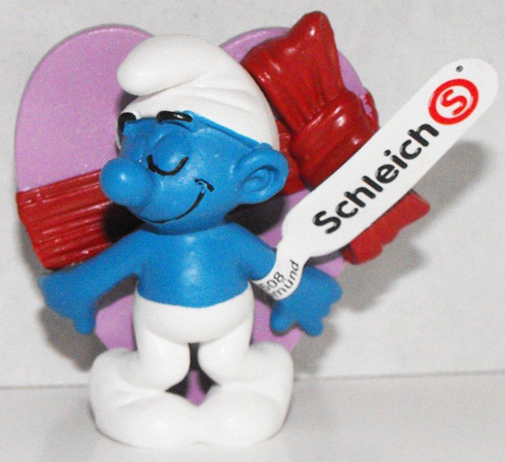 20747 Valentine's Day Smurf 2013 Smurfy Greetings Collection Plastic Figurine