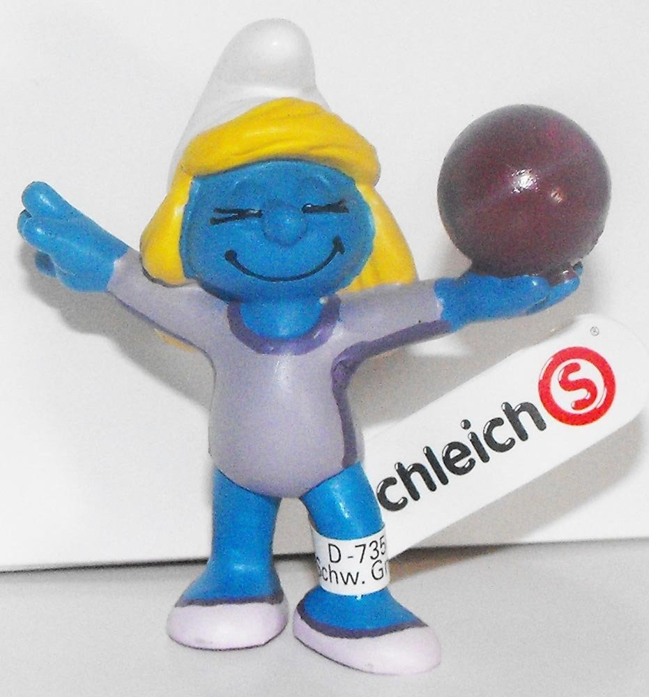 20740 Gymnast Smurfette 2012 Olympic Sports Set Gymnastic Smurf Figurine Figure