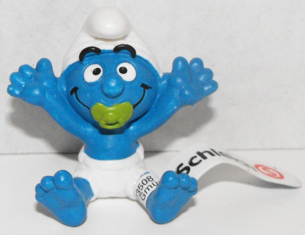 20750 Baby Smurf Figurine from 2013 Smurfy Greetings Collection Miniature Figure
