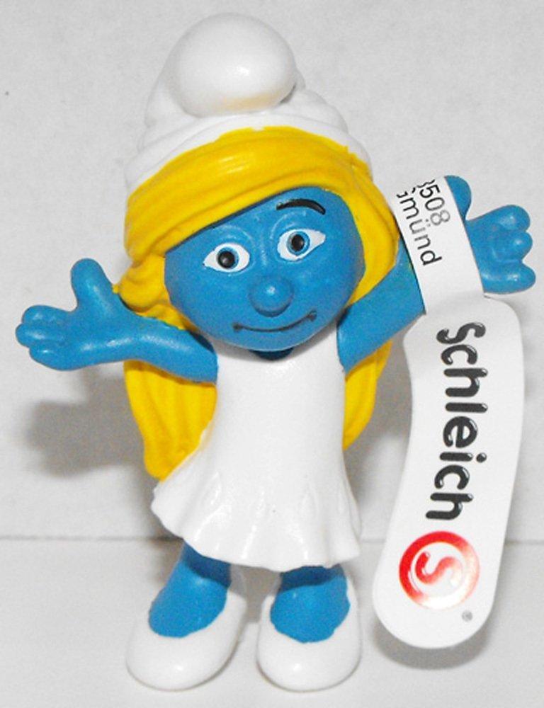 20755 Smurfette Girl Figurine from 2013 Smurfs 2 Movie Plastic Miniature Figure