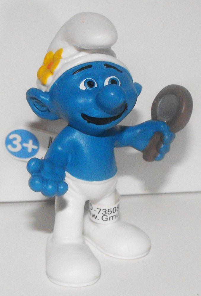 20756 Vanity Smurf Figurine from 2013 Smurfs 2 Movie Plastic Figure with Mirror