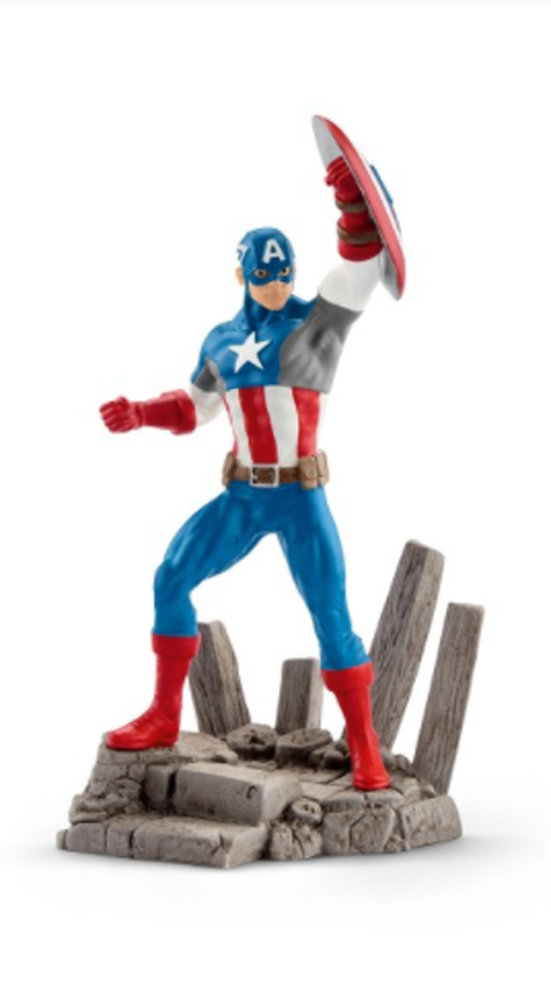 Captain America Marvel Figurine from New in Box Schleich 21503