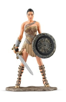 Wonder Woman DC Comics Figurine from New in Box Schleich 22557