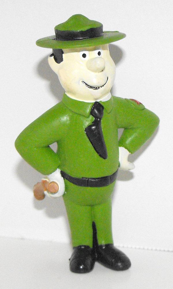 Ranger John Smith 3 inch Plastic Figurine Hanna Barbara Miniature Figure