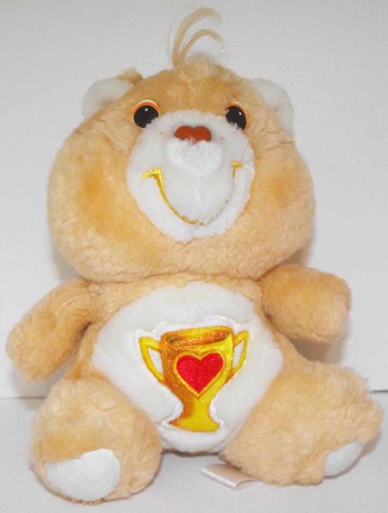 Champ Bear Care Bears 6 inch Vintage Plush Stuffed Animal
