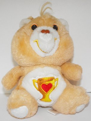 Champ Bear Care Bears 6 inch Vintage Plush Stuffed Animal