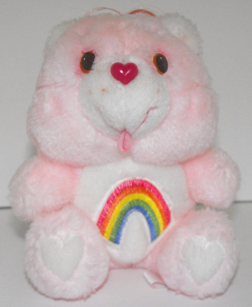 Cheer Bear Care Bears 6 inch Vintage Plush Stuffed Animal