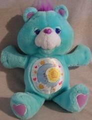 Bedtime Bear 13 inch Vintage Environmental Plush 1991 Care Bears