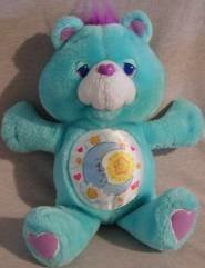 Bedtime Bear 13 inch Vintage Environmental Plush 1991 Care Bears