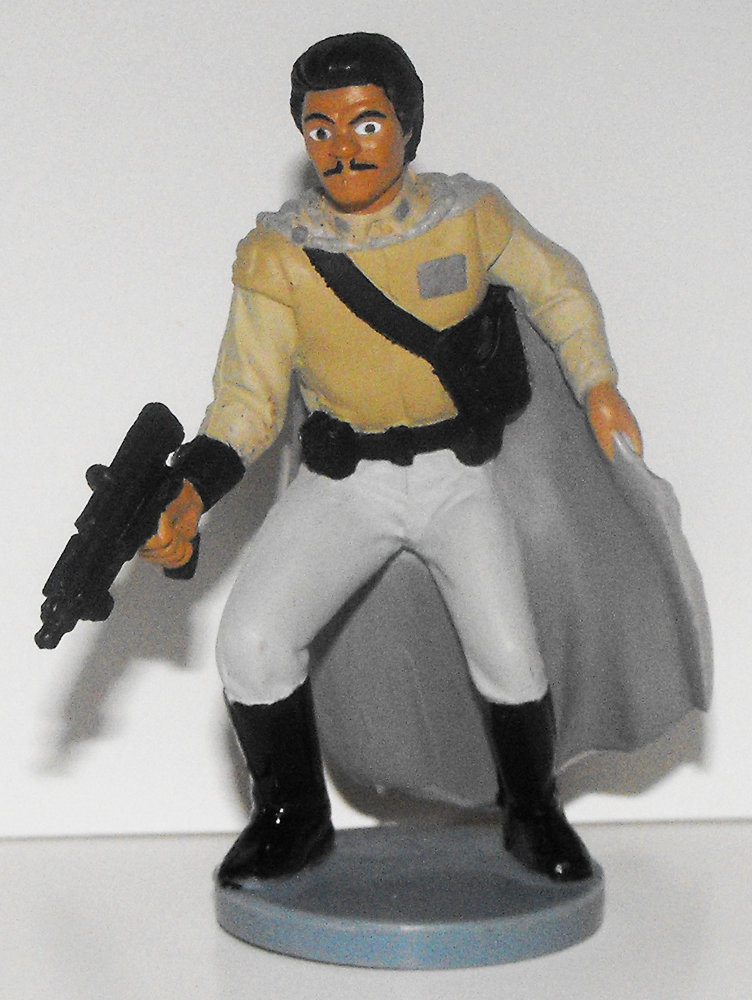 Lando Calrissian Star Wars Plastic Figurine Miniature Figure