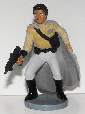 Lando Calrissian Star Wars Plastic Figurine Miniature Figure
