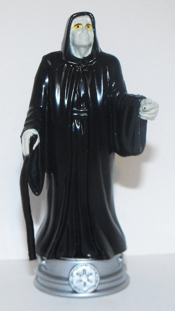Emperor Palpatine Star Wars Plastic Chess Figurine Miniature Figure