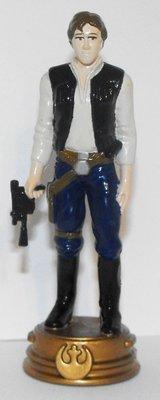 Han Solo Star Wars Plastic Chess Figurine Miniature Figure