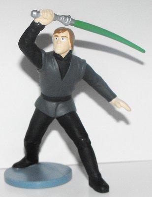 Anakin Skywalker Jedi Star Wars Plastic Figurine Miniature Figure