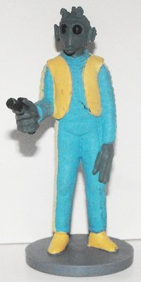 Greedo Star Wars Plastic Figurine Miniature Figure