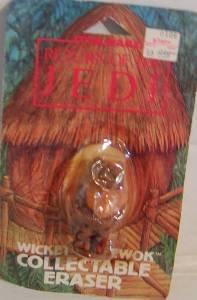 Ewok Eraser Star Wars Return of the Jedi Figurine Miniature Figure