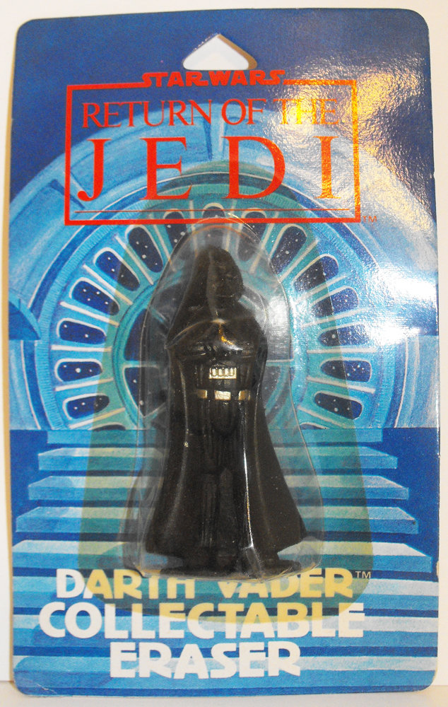 Darth Vader Eraser Star Wars Return of the Jedi Figurine Miniature Figure