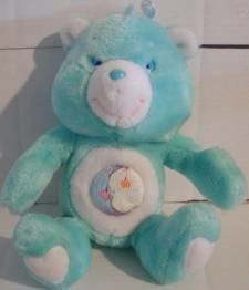 Bedtime Bear 13 inch Vintage Shopko Plush 1995 Care Bears