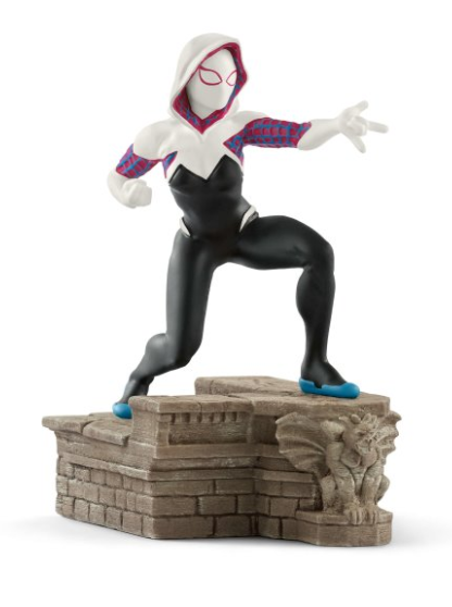 Spider-Gwen Marvel Figurine from New in Box Schleich 21512