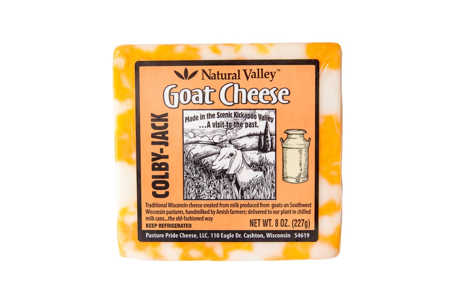 Colby-Jack Goat Cheese