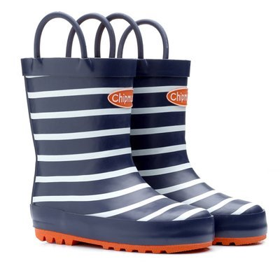 Chipmunks Jack Navy Stripe Wellington Boots Uk Size Range 4 2
