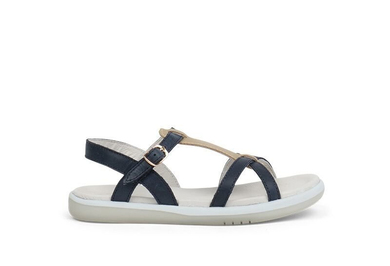 Bobux Pixie Girls Navy Sandals European Size Range 27 32