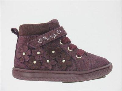 195476cc9bcf Primigi Infant Girls Burgundy Ankle Boot European Size Range 20-24