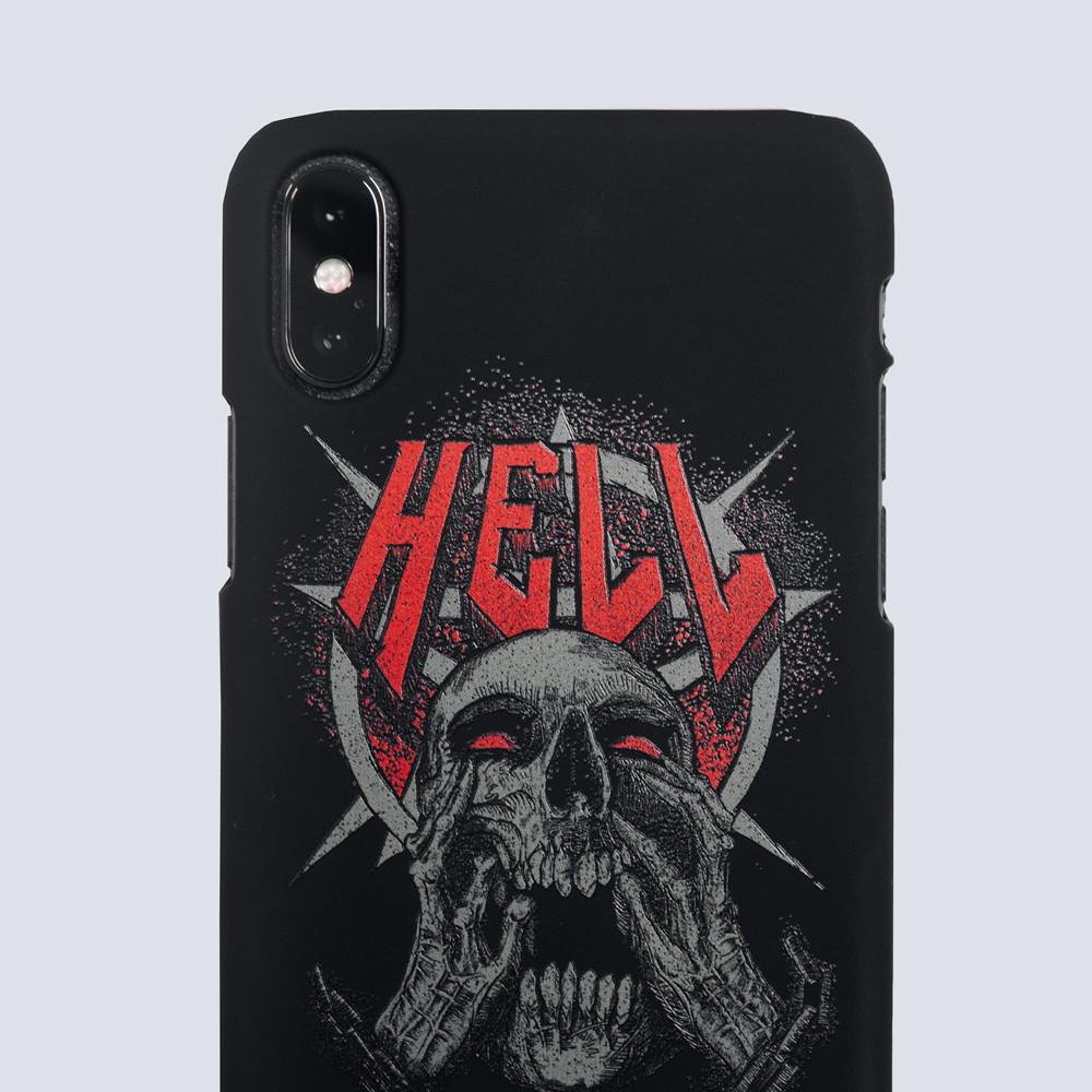 """Чехол для iPhone """"HELL"""""""