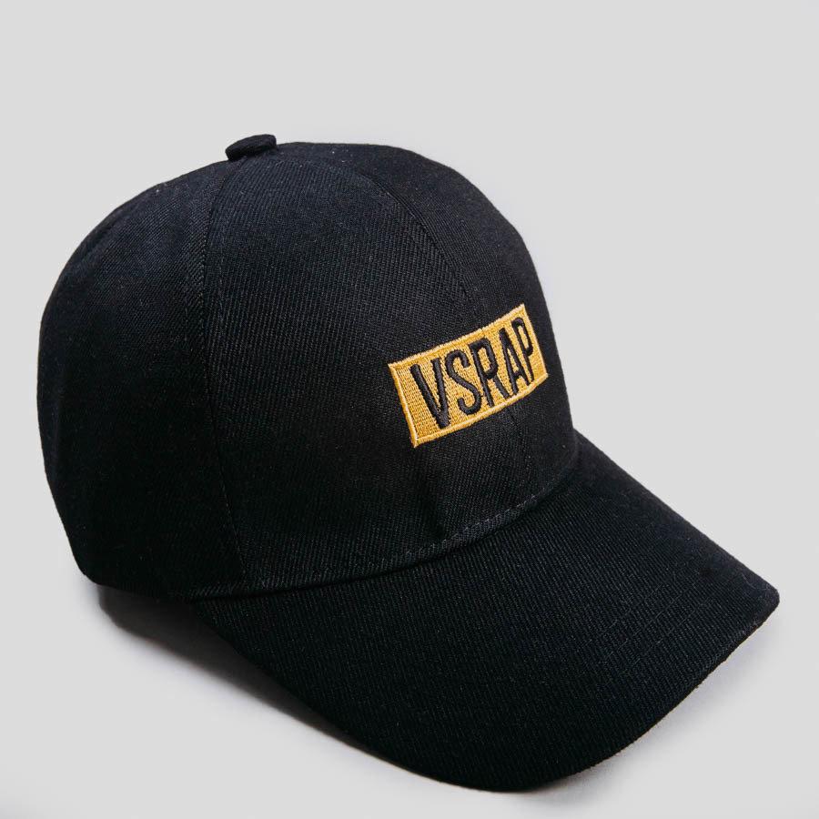 Кепка VSRAP / желтое лого