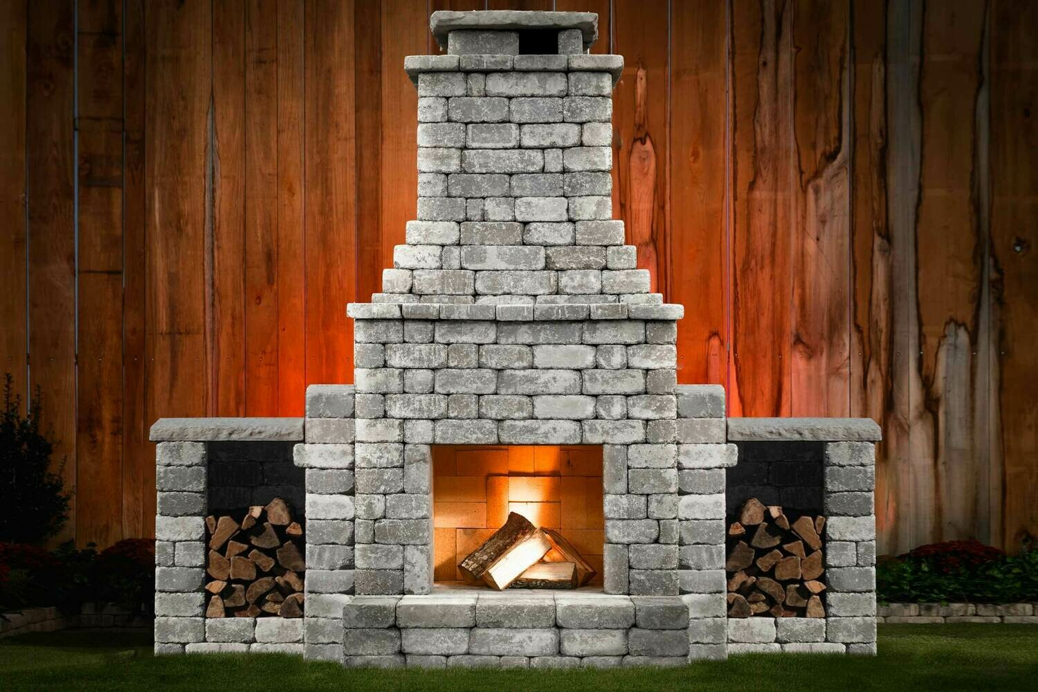 Princeton DIY Outdoor Fireplace Kit