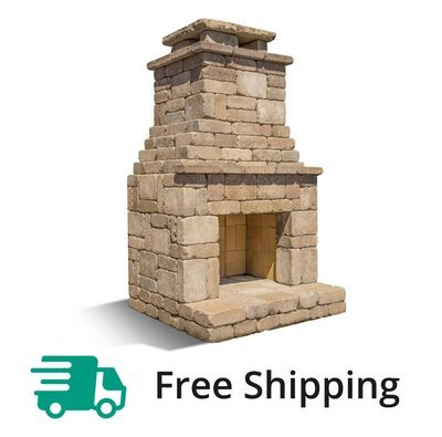 Romanstone now offers our outdoor Fremont fireplace kit for truly easy glue together construction. No mortar needed. Just follow our simple instructions.