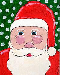 "12-15-18 ""Santa"" Family Paint Event  - 12pm"