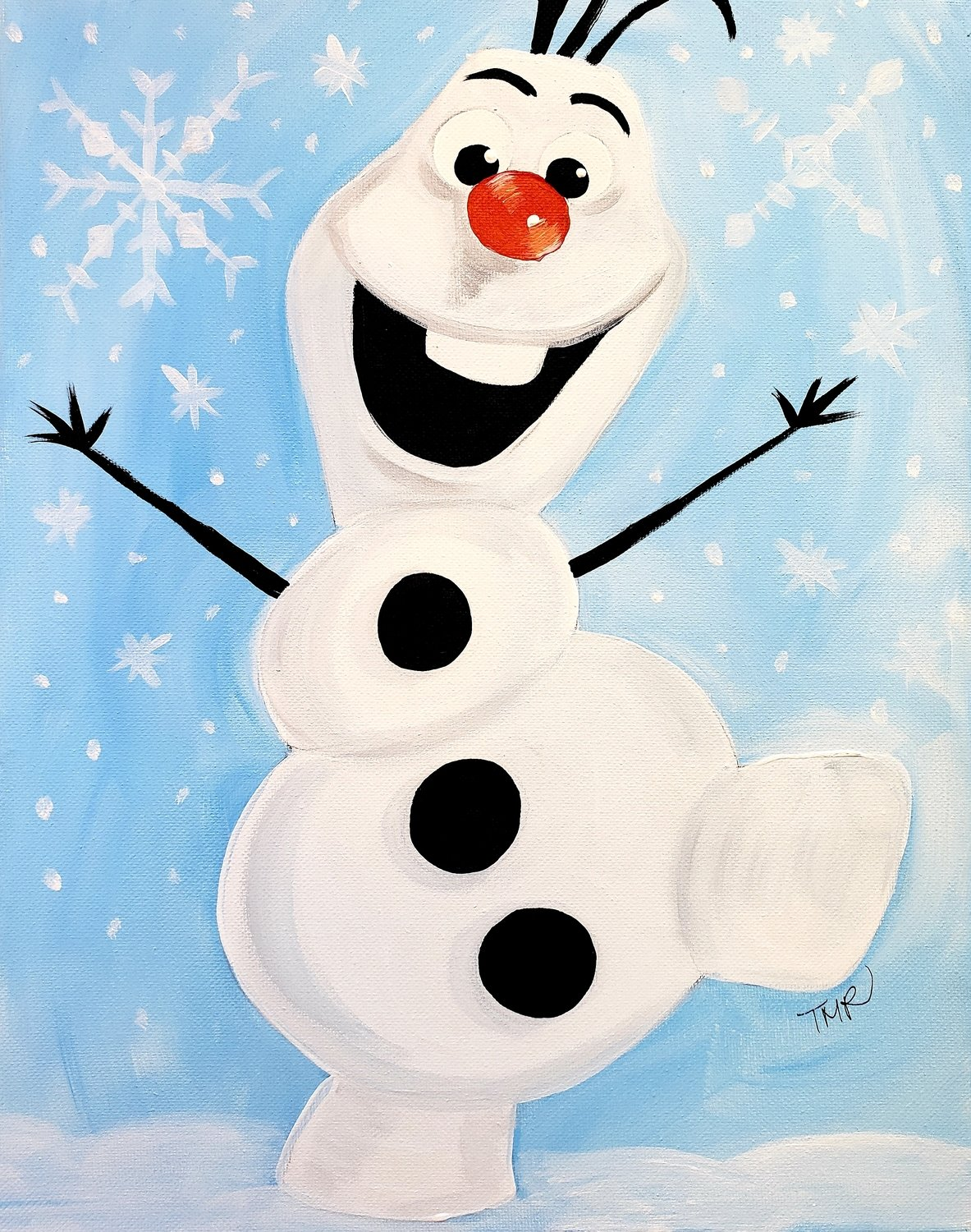 "12-29-18 ""Olaf"" Family Paint Event  - 12pm"