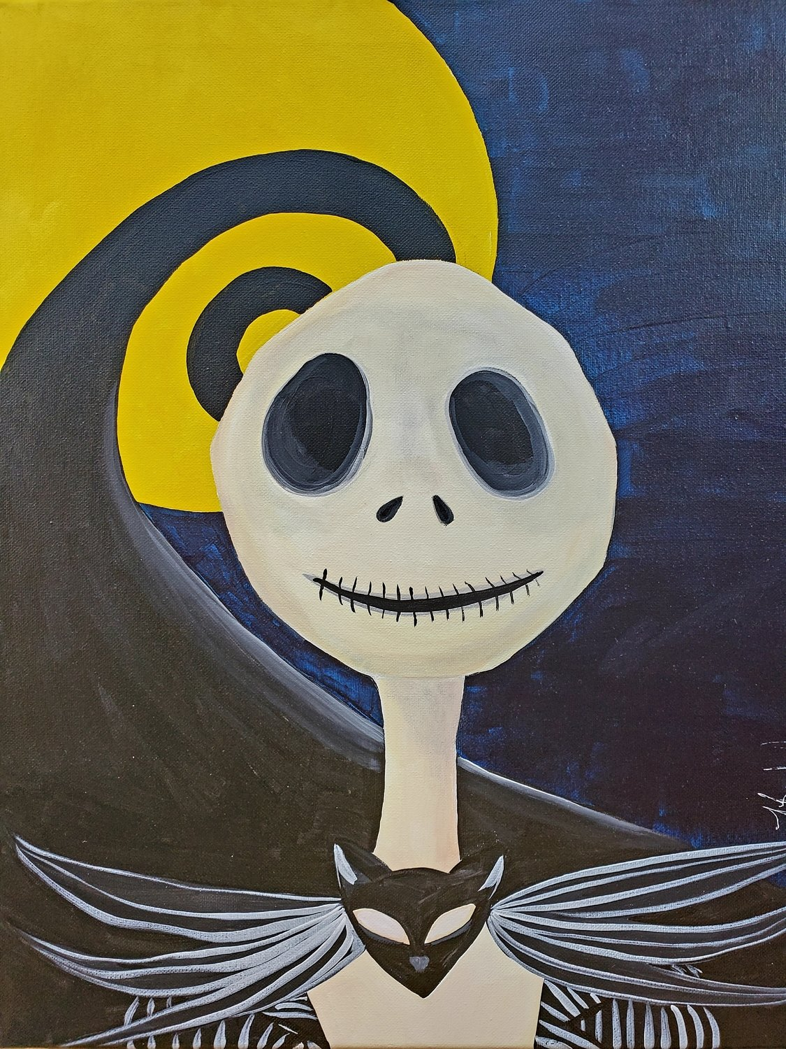 "12-15-18 ""Nightmare""  Adult Paint Event  - 5:30 p.m"