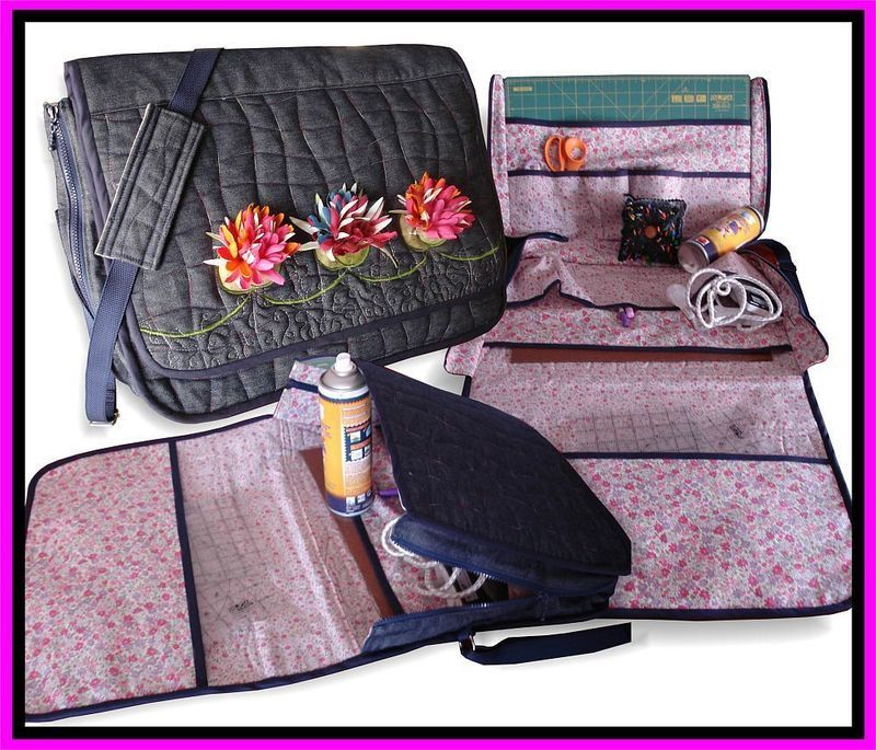 QUILT WHERE YOU GO BAG