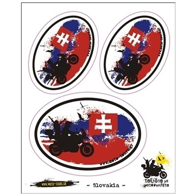Σετ αυτοκόλλητα Σλοβακία
