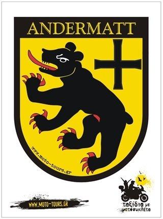 Αυτοκόλλητο Andermatt (CH) ST-C26