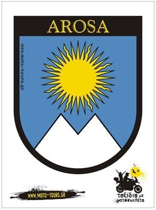 Αυτοκόλλητο Arosa (CH) ST-C28