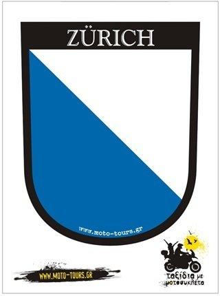 Αυτοκόλλητο Zurich (CH) ST-C25