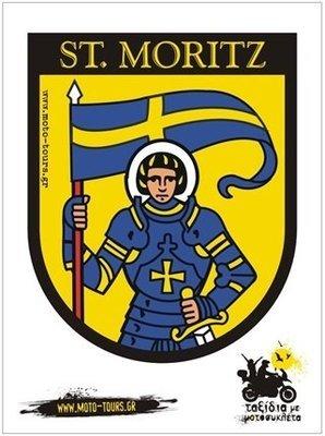 Αυτοκόλλητο St. Moritz (CH)